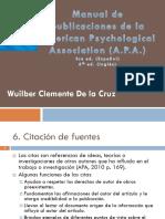 Citas APA 6.0