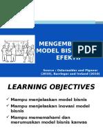 5-Mengembangkan Model Bisnis Yang Efektif