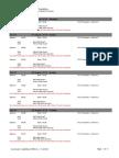 Rio 2016 Weightlifting Schedule