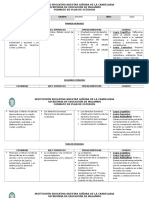 Plan de Estudios Catedra de La Paz 10