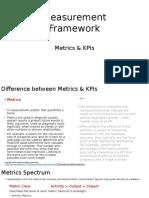 metrics   alligned measurement framework