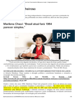 Marilena Chauí_ _Brasil Atual Fará 1964 Parecer Simples