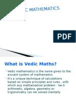 Vedic Maths Presentation