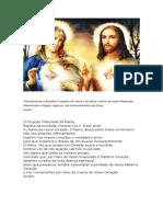 Sacratíssimos e Benditos Corações de Jesus e de Maria