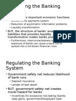 Bank Regulation Slides