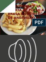 Diapositiva de La Oferta y La Demanda Del Pollo a La Brasa