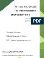 Apresentação Mercado de Trabalho Gestão Certificação Internacional 1