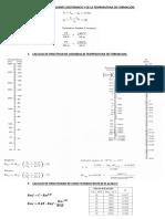 Calculo Del Gradiente Geotermico y de La Temperatura de Formacion