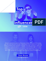 Top 100 Social Media Influencers