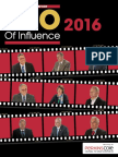 2016 CEO of Influence