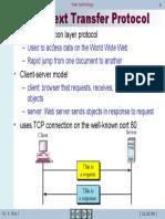Web Technology 6-HyperText Transfer Protocol