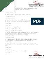 LIC AAO Reasoning Aptitude Paper 2