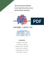 Sistema Cardiovascular y Linfático