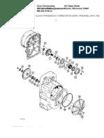 Allison Transmission%2c Turbine Driven Gears%2c Freewheel Units%2c and Rear Cover
