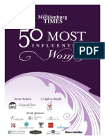 The Mecklenburg Times presents 50 Most Influential Women, 2016