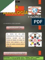 Clase 03 Axiologia - Valores Eticos