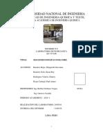 Informe de Laboratorio de Química Inorgánica N6