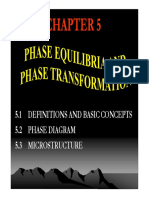phase equilibria and phase transformation