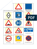 Theory Test Sign