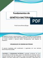 Genética Bacteriana Aula 3 Micro I BOMMM