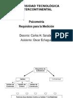 Requisitos Para La Medición Validez y Confiabilidad 2015