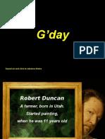 Pinturas de Robert Duncans