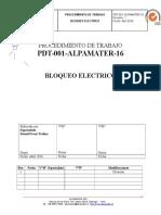 Pdt 001 Alpamater 16 Bloqueo Electrico