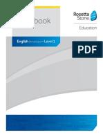 Rosetta stone Classroom English US-Workbook Level1