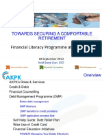 10 - AKPKs Workplace Financial Education Services