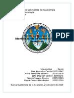 Reporte Laboratorio Comatografía e Identificación de proteínas