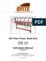 API Filter Press, Multi-Unit
