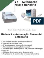 Módulo 4 - Automação Comercial e Bancária
