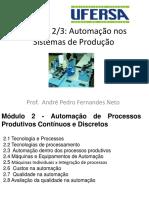 Módulo 2 - Automação Da Produção