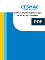 Manual de Biossegurança de Medicina Veterinária 2015