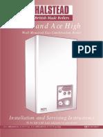 Ace Ace High 20 Manual