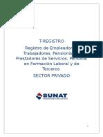 Instructivo Registro de Trabajadores y Practicantes