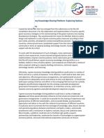 A Green Economy KnowledgeSharing Platform