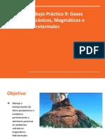 Presentación Gases volcánicos, hidrotermales, magmáticos