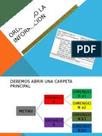 Ordenando La Informacion Meto. Investigacion