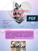 Atencion Del Puerperio