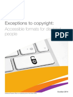 A. Accessible Formats for Disabled People