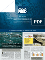 Innovative approaches to reduce feed cost in aquaculture