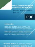Normas Internacionales Contabilidad (Nic) 23 Nueva Version