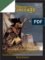 Open Design - Zobeck Gazatteer - Dwarves of the Ironcrags