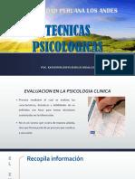 TÉCNICAS PSICOLÓGICAS (1)