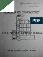 Hidraulica en Edificaciones - Jorge Granados Robayo.pdf