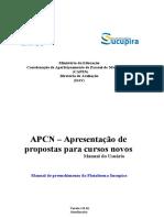 Manual APCN - Plataforma Sucupira - Vers�o em 16-07