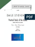 Stievenard Emile Study of Scales