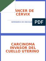 Diapositivas Cancer de Cervix