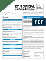 Boletín Oficial de la República Argentina, Número 33.405. 24 de junio de 2016